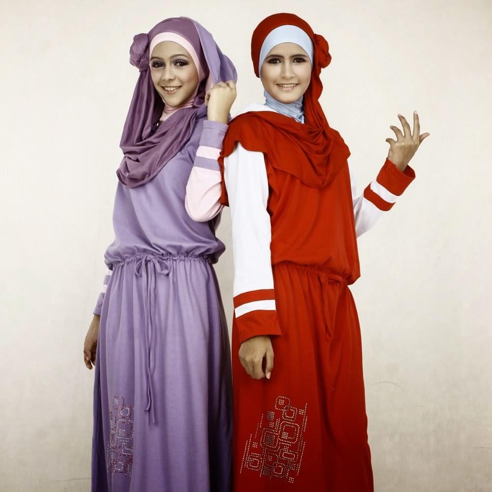 30 Contoh Gambar Desain Busana Muslim Remaja Terpopuler 2018