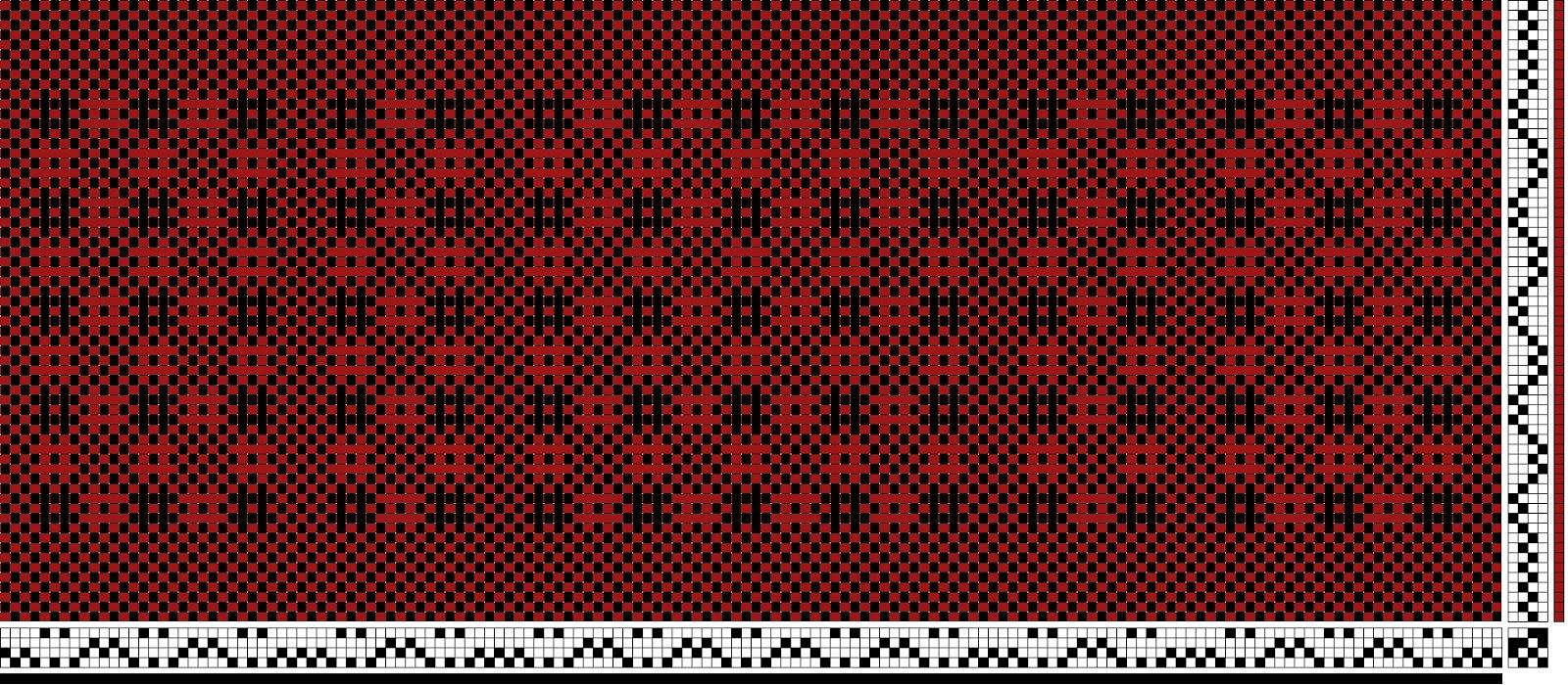 rysunek tkacki / weaving draft