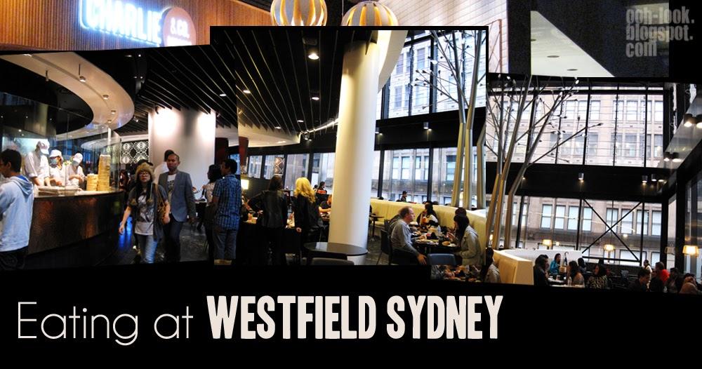 Westfield Food Court Pitt St Sydney