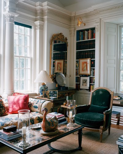 La vie int rieure inspiration oscar de la renta 39 s house for Oscar home