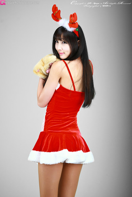 2 Santa Lee Yoo Eun-Very cute asian girl - girlcute4u.blogspot.com