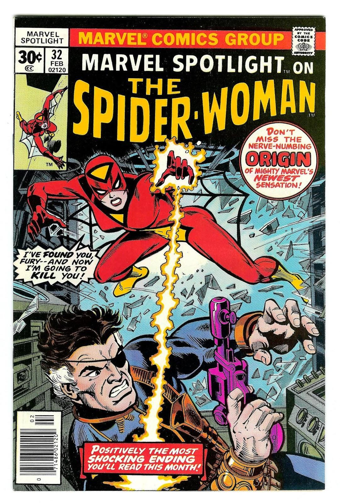 Marvel Spotlight 32 - Spider-Woman - Primera aparición