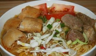 resep Makanan - Soto Mi Bogor - Cara Membuat Soto Mi Bogor