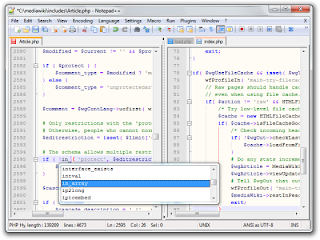 notepad++ screenshot pictures