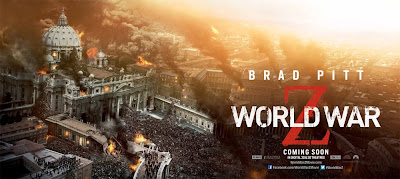 World War Z Banner Poster Vatican
