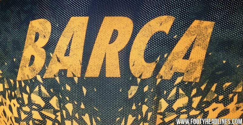 Nuevas camisetas de entrenamiento y pre partido Nike del Barcelona