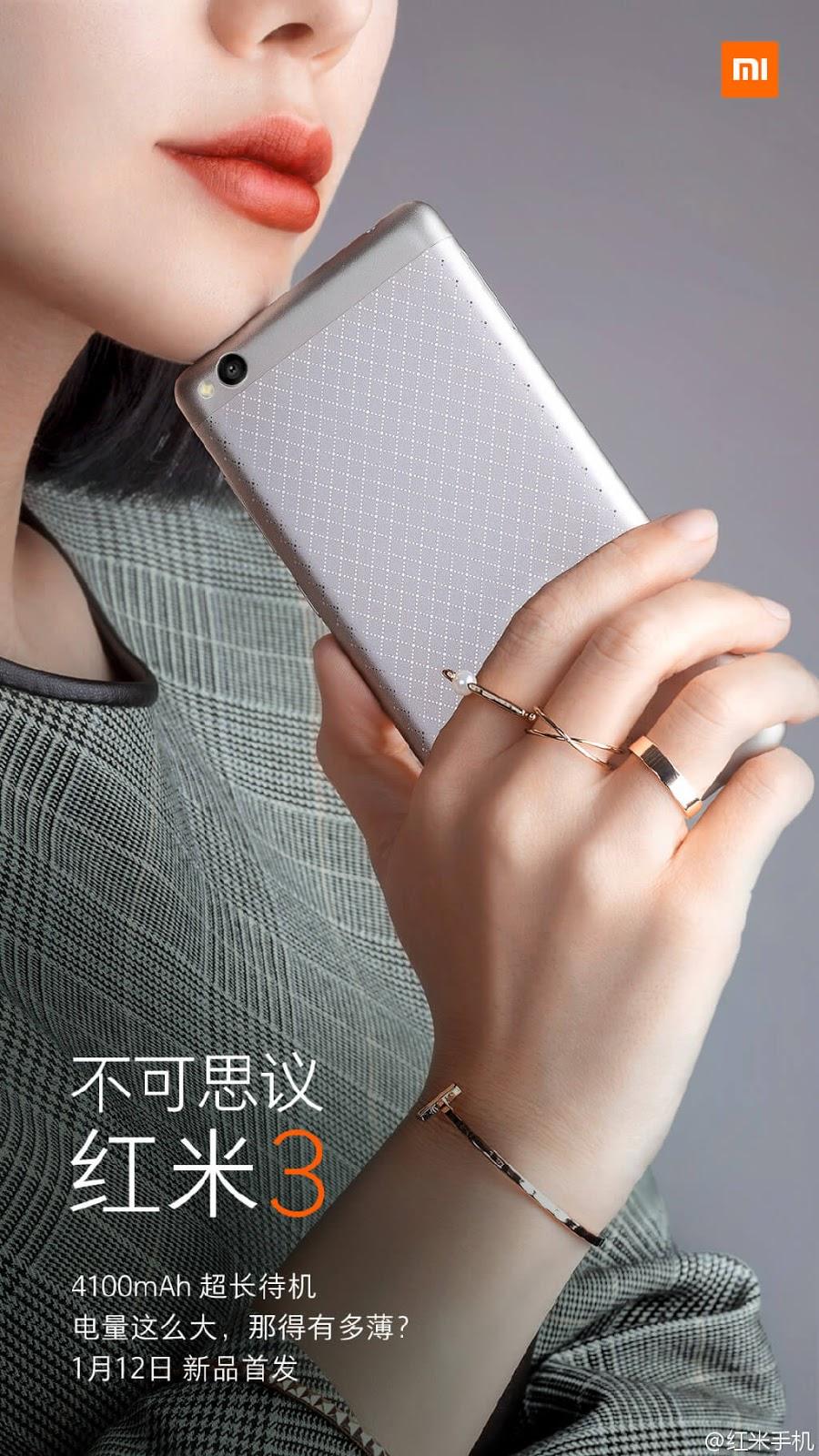 Xiaomi Redmi 3 leak