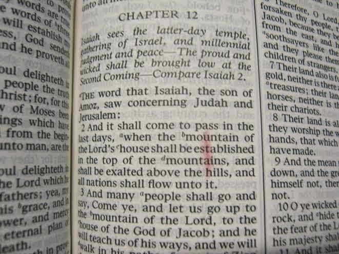Utah in scriptures