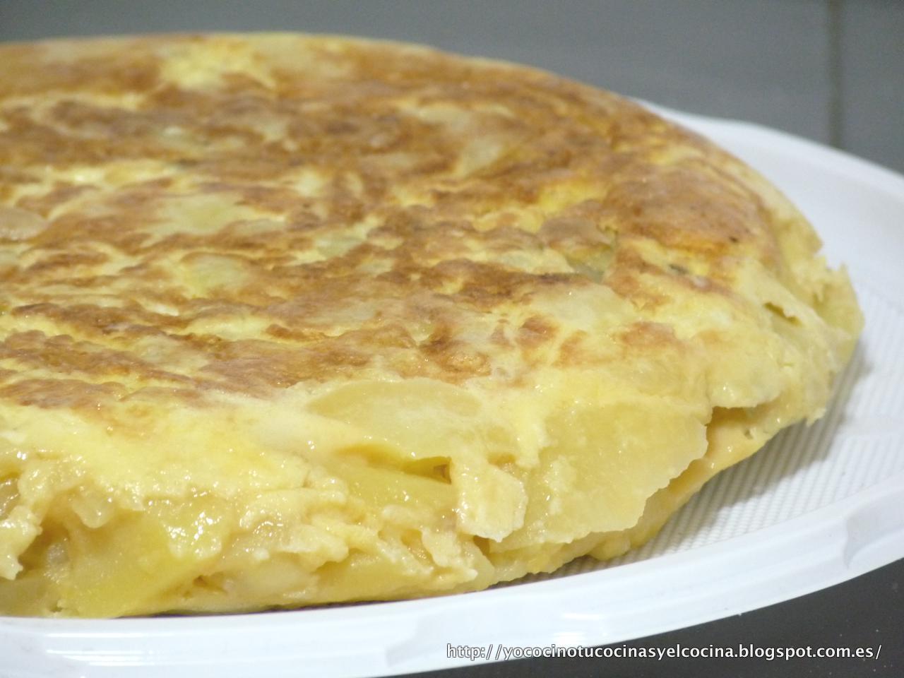 ... , tú cocinas y él cocina...: La mejor Tortilla de Patata del Mundo