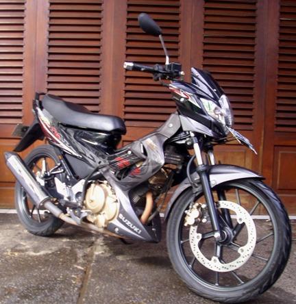 Modif Motor Suzuki Satria 2 Tak