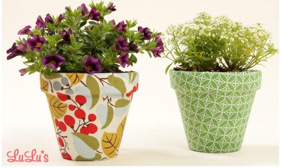 7 ideas para decorar tus macetas manualidades - Como decorar macetas ...