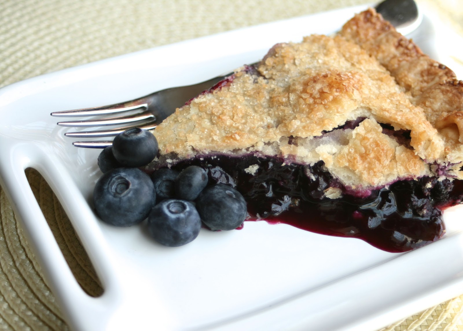 tune 'n fork: Grandma's Blueberry Pie