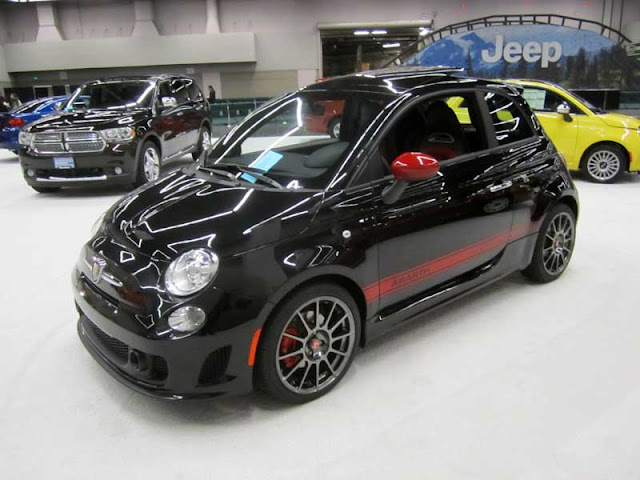 2013 Fiat 500 Abarth from the Portland International Auto Show - Subcompact Culture