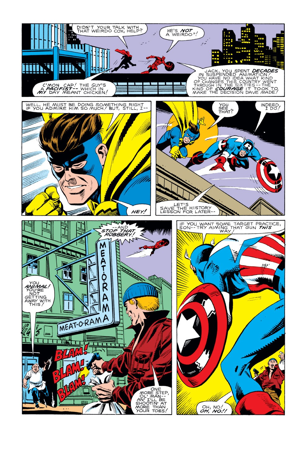 Captain America (1968) Issue #293 #221 - English 16
