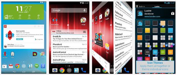 تحميل أفضل 10 لأنشر لهواتف وأنظمة أندرويد بصيغة APK مجاناً Top free Launcher for Android