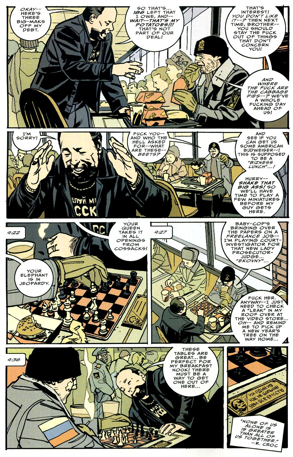 Read online The Winter Men comic -  Issue #4 - 3
