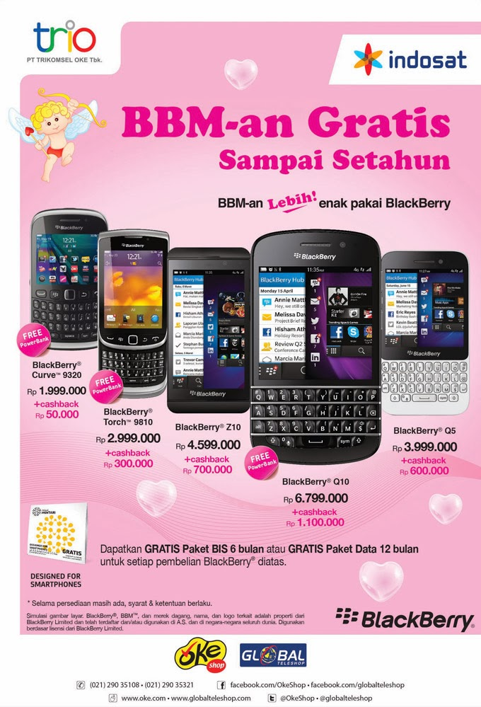 Gratis Internet BlackBerry