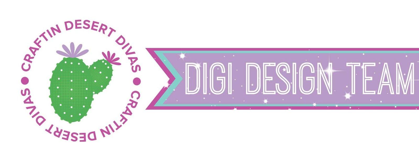 ♥ Ich bin im Designteam von Craftin Desert Divas ♥