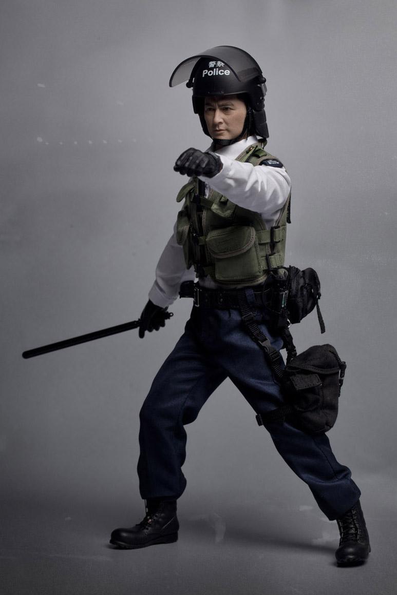 1//6 Scale Dragon Royal Hong Kong Police Black Tie