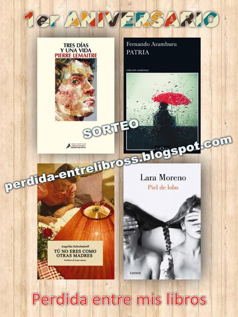 Sorteo en Blog Perdida entre mis libros