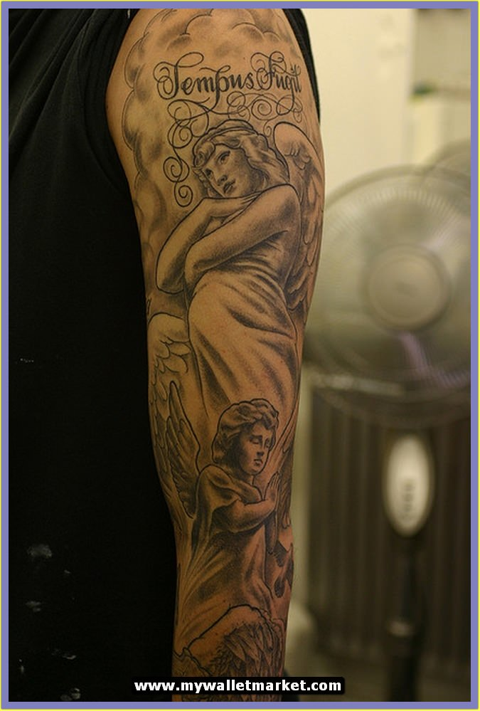 awesome tattoos designs ideas for men and women angel