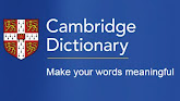 CAMBRIDGE ONLINE DICTIONARY