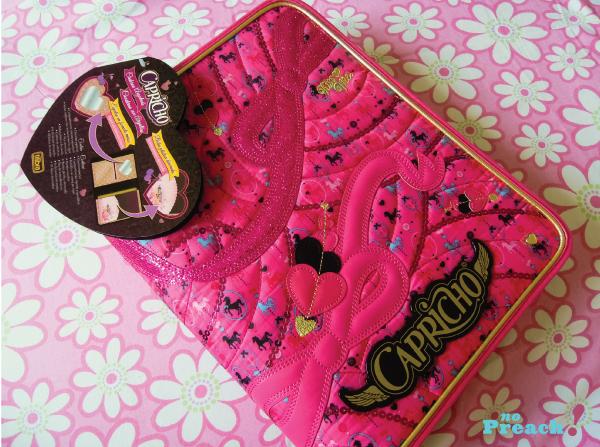 Fichário Coleção Capricho TOP 2013 - tilibra - Volta ás aulas - material escolar - pink