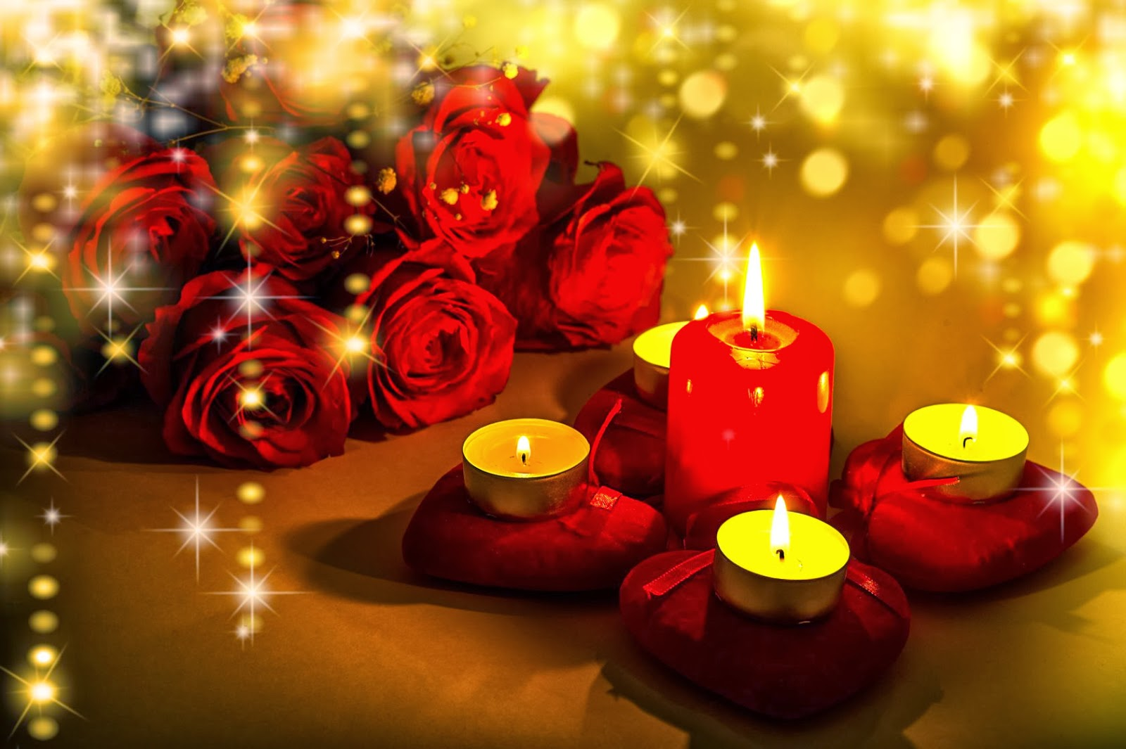 Imagenes De Rosa Rojas - Imagen de amor de rosas rojas con movimiento Imágenes