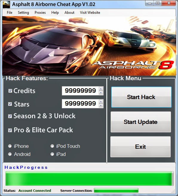 download hack asphalt 8 ios
