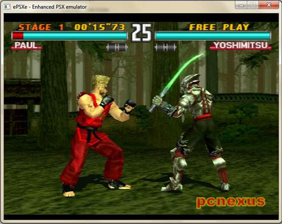 tekken 3 on pc/laptop