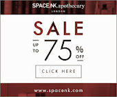 Space NK 75% Off Sale