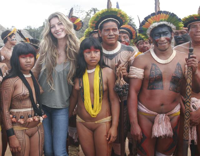 Фото голые индейцы