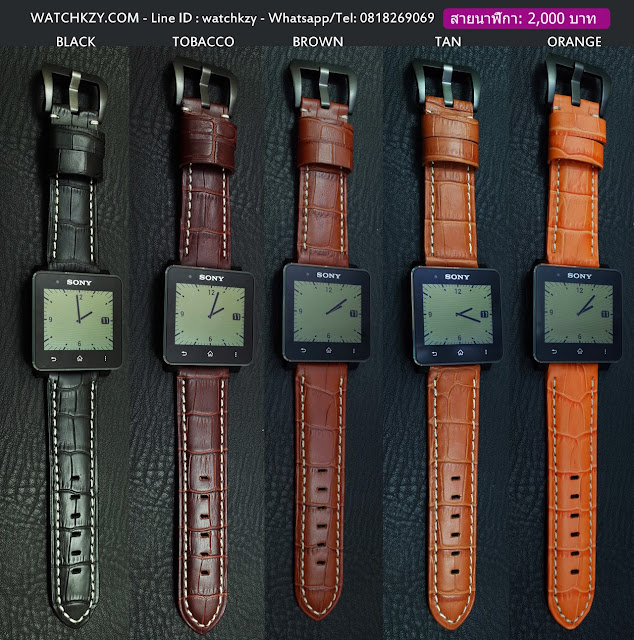 สายนาฬิกา SONY SmartWatch 2 หลากสี #1