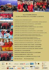resultados campeonatos de España 2017