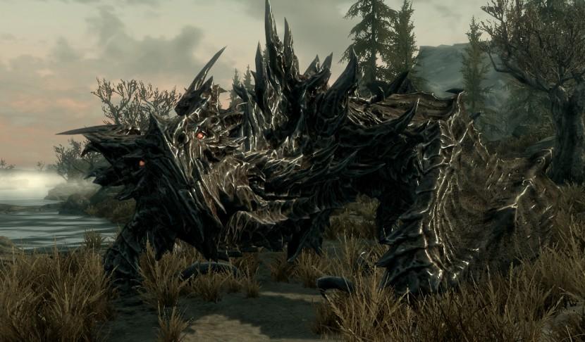 Skyrim Dragon Alduin