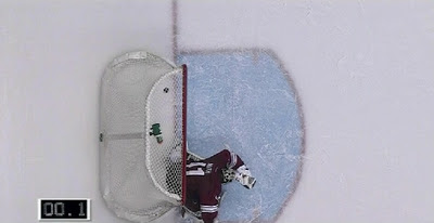Brad Richards' game winner versus Phoenix Coyotes goalie Mike Smith at 00.1 mark: in the net