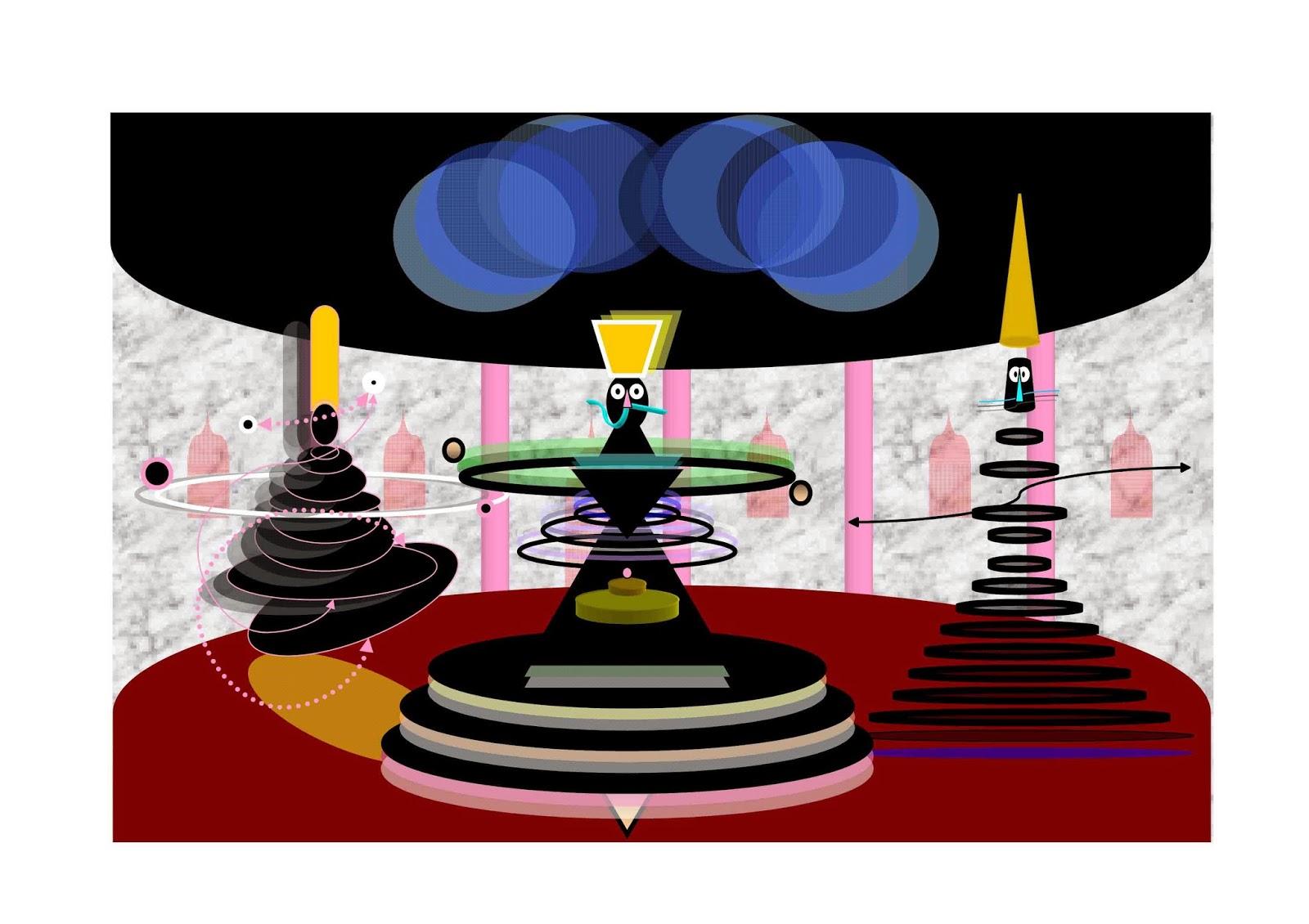 David Kantorovitz- art naif - outsider art magazine gricha rosov