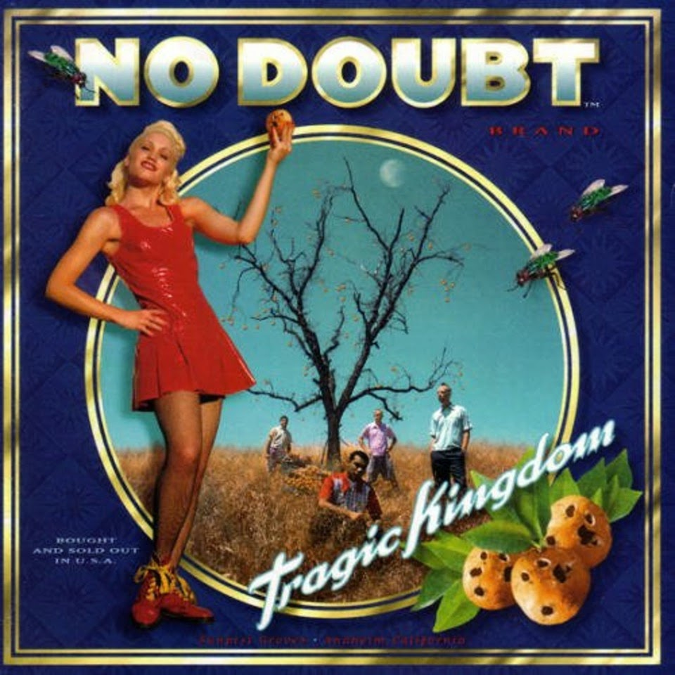 Foto portada disco No Doubt