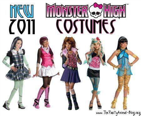 Juegos monster de vestir