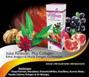 De'Herbs Juice Perawan Plus Collagen