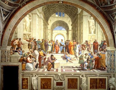 L'école d'Athènes. Raphaël. 1511.