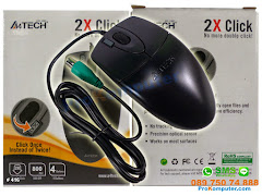 Mouse A4tech Optic Fitur Dobel Klik OP620D PS2