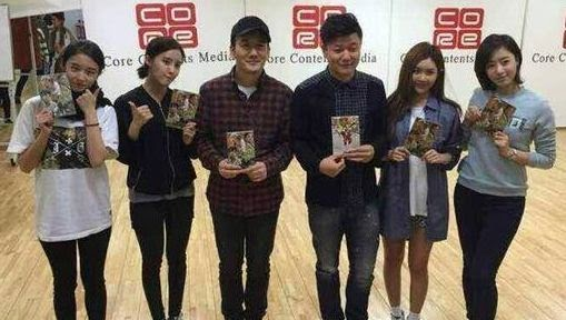 t-ara with chopstick brothers