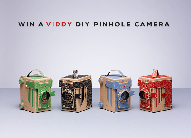 GIVEAWAY // Win a VIDDY DIY Pinhole Camera from Bubby and Bean!