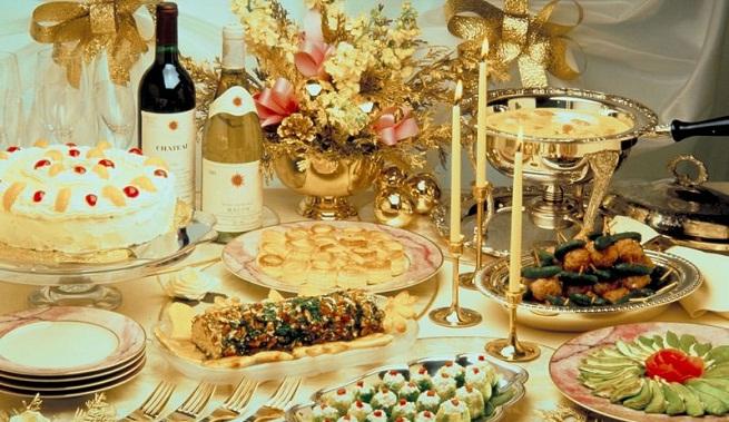 Decoraci n del hogar y negocios decoracion mesa - Mesa de navidad decorada ...