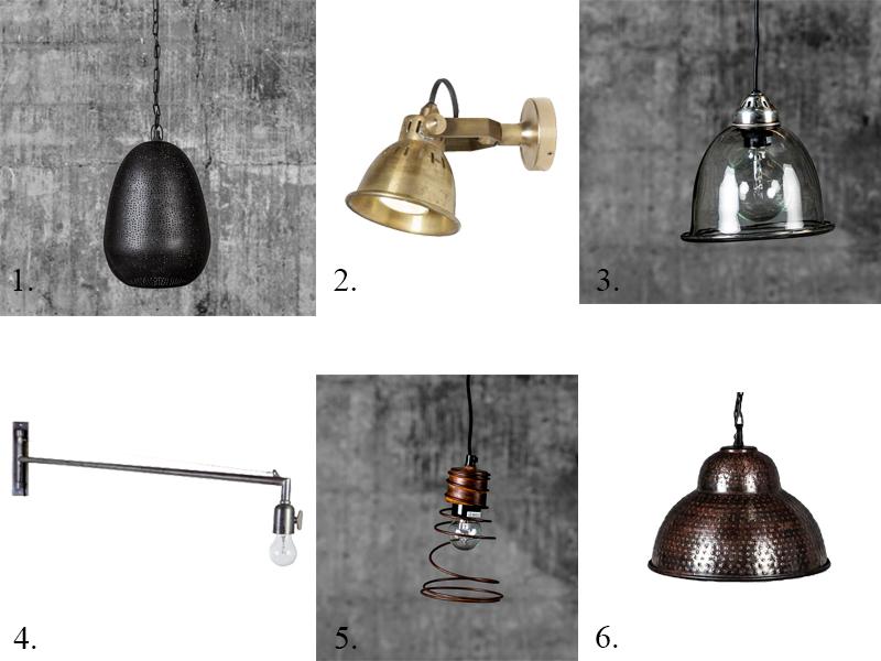 Beduin taklampe sort Ø24xH35cm 849,- / 2. Rio vegglampe Ø11xH16 ...