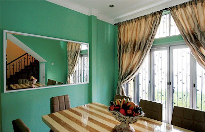 Konsep makna dan tip warna dalam rumah, panduan warna ,panduan cat