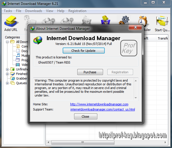 Internet Download Manager 6.21 Build 15 | nsane.down