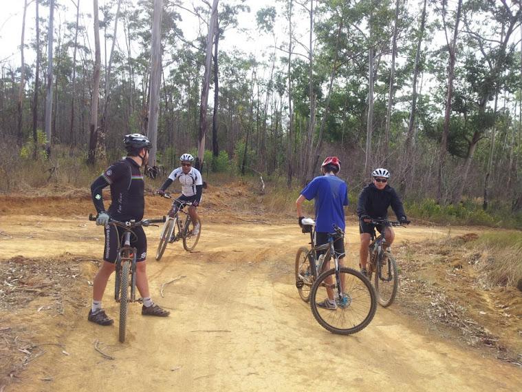Passeio ciclistico homens da UPH 2012