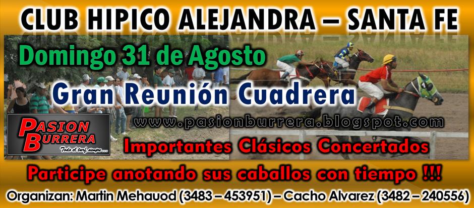ALEJANDRA - 31 DE AGOSTO